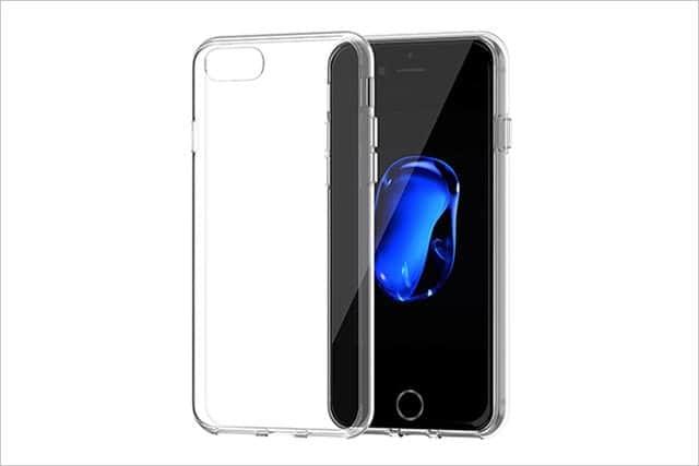 iPhone 7 ジェットブラックに着けたいクリアケース 選
