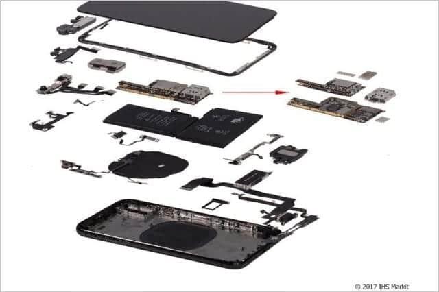 iPhone X の部品コストは370ドル