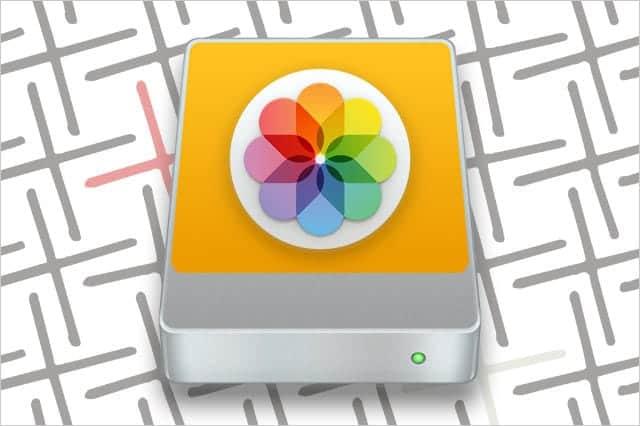 写真.appのライブラリを外付けHDD(別ドライブ)に移動する方法