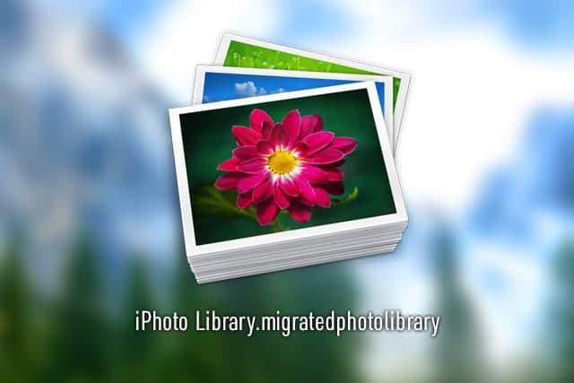 125GBと大容量のiPhoto Library.migratedphotolibraryって何?消していいのか?