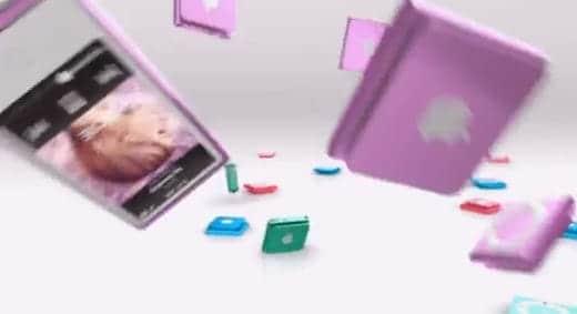 新しいiPodシリーズのテレビCM Bounce
