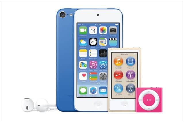 新カラー追加、処理能力向上、iPod ファミリーが一新