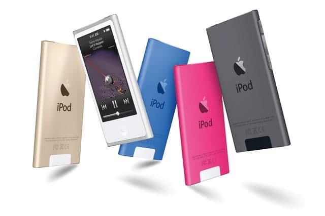 第7世代のiPod nano