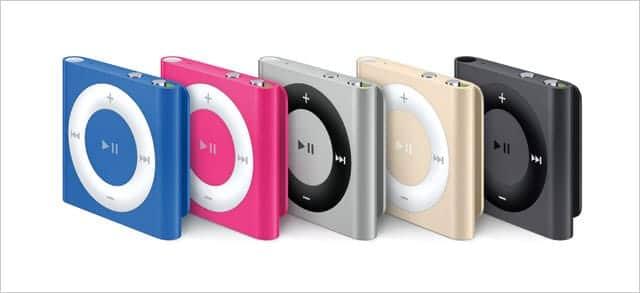 第4世代 iPod shuffle