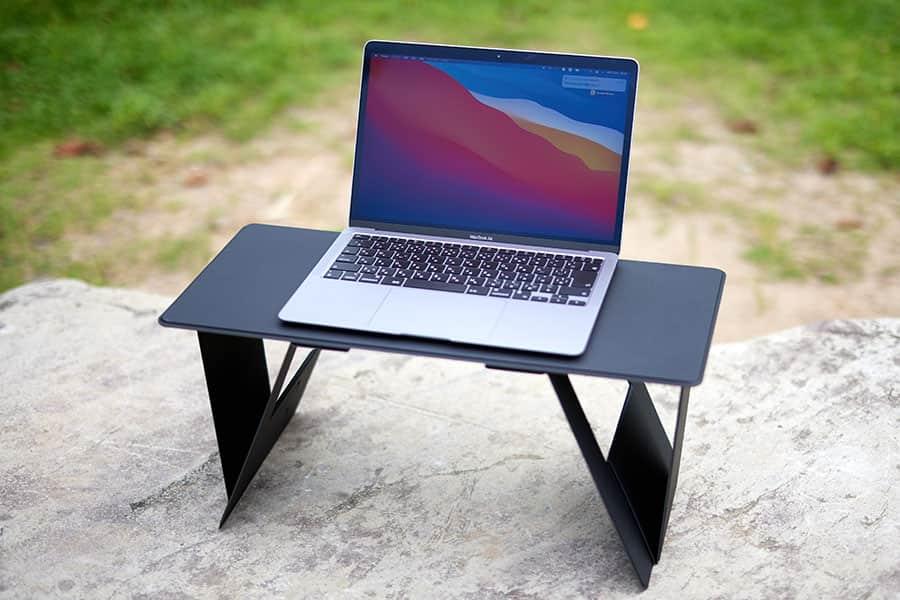 どこでもパソコン作業!折りたたみ式ミニテーブル『iSWIFT Pi Max』レビュー