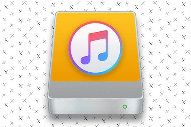 iTunesのライブラリを外付けHDD(別ドライブ)に移動する方法