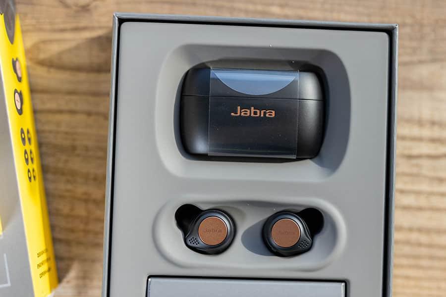 Jabra Elite Active 75tの箱の中身