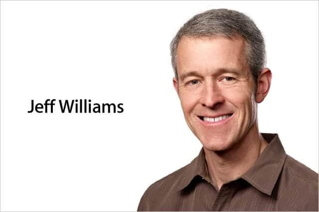 Apple、ジェフ・ウィリアムズをチーフ・オペレーティング・オフィサーに任命