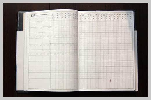 陰山手帳レビュー プロジェクト管理ページ