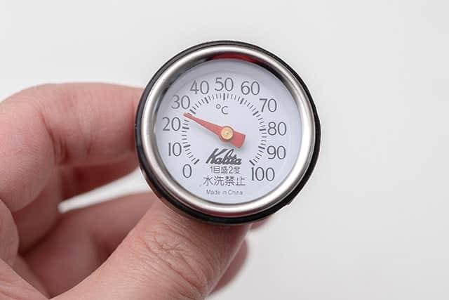 カリタ適合ポット専用の温度計メーター