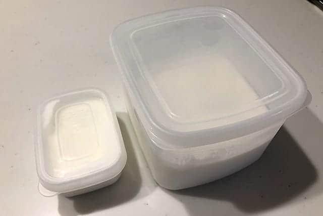 ヨーグルト保存用容器