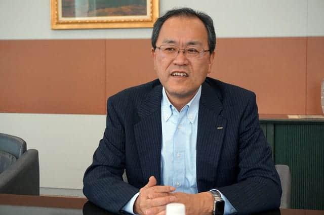 KDDI 田中社長