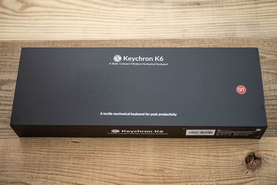 Keychron K6 パッケージ