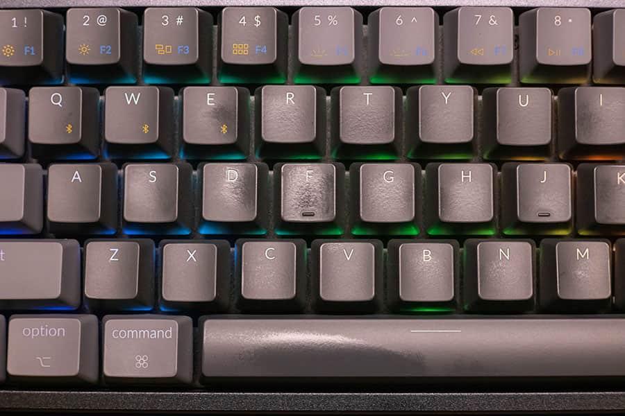 Keychron K6 1日使ったキートップ