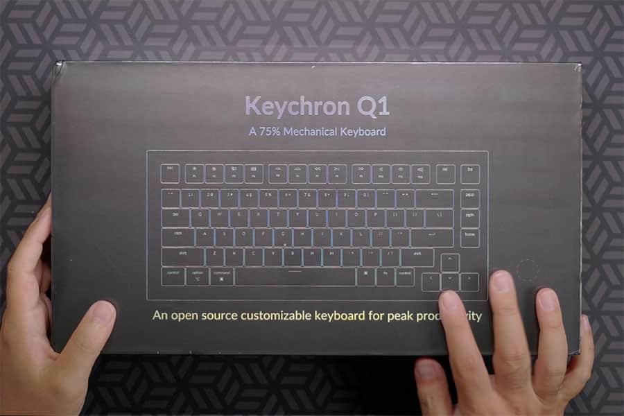 Keychron Q1 パッケージ