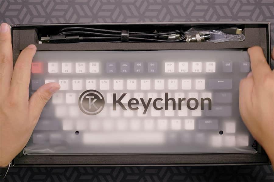 Keychron Q1 パッケージの中身