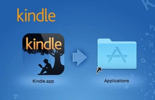 Kindle for Mac インストール
