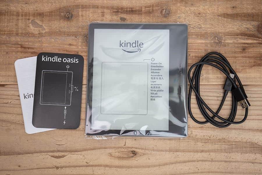 Kindle Oasis パッケージ一覧