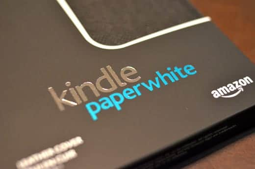 Kindle PaperWhiteの箱