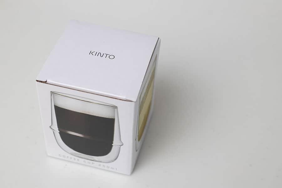 水滴ゼロ!アイスコーヒーに最適なKINTOの2層構造のグラス250mlレビュー