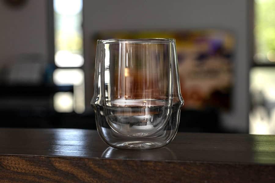 KINTOのダウルウォール コーヒーカップ すごく美しい