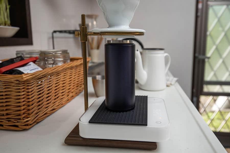KINTOのドリップスタンドでコーヒーを淹れる
