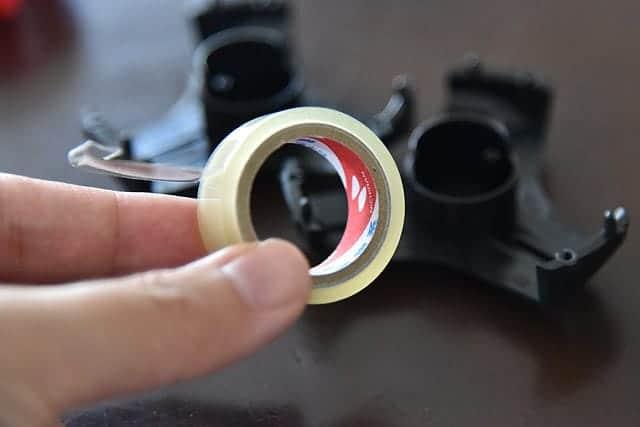 小巻のセロテープをセット