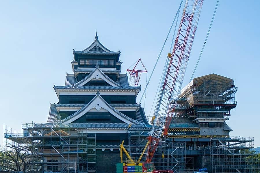 復活!熊本城が地震から見事に蘇った!特別公開スタートしたので初日に行ってみた