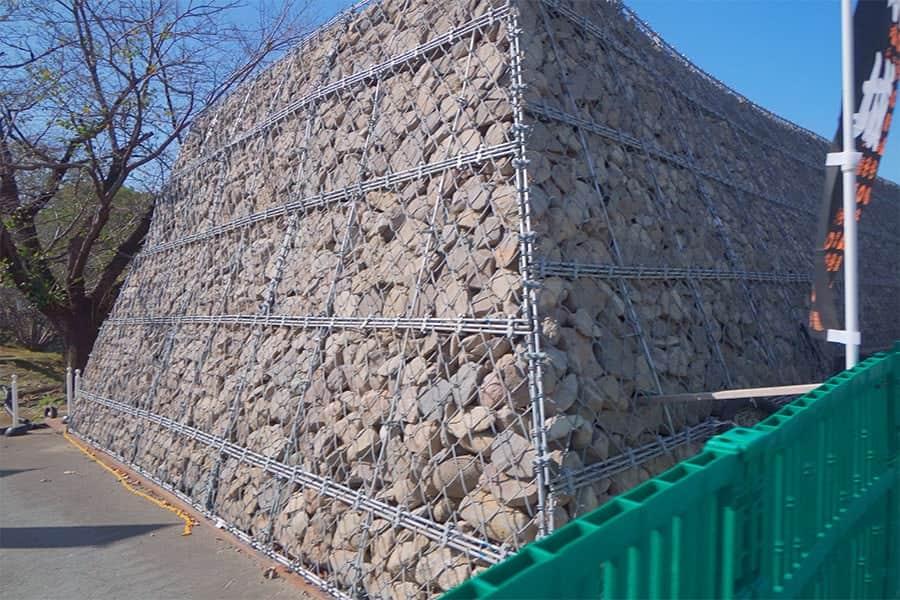 西大手門の石垣