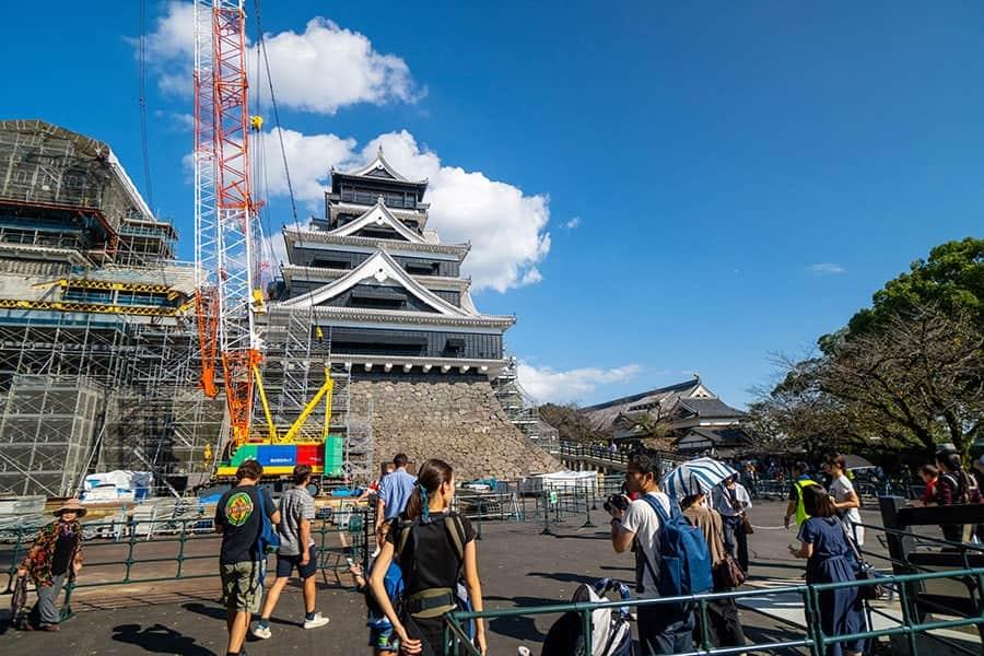 熊本城の大天守