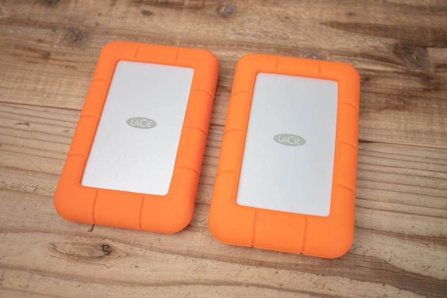 LaCie Rugged USB-C 2TBと5TB