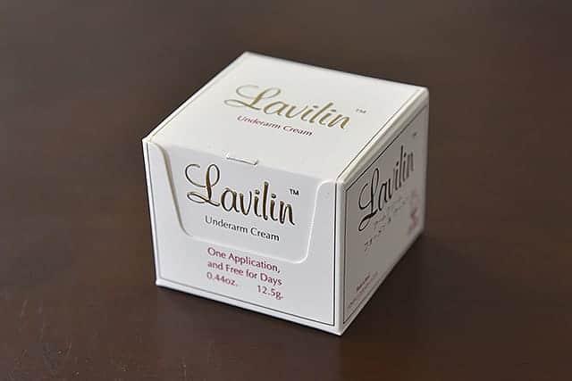 1週間も脇の臭いを抑えてくれる『ラヴィリン アームクリーム』