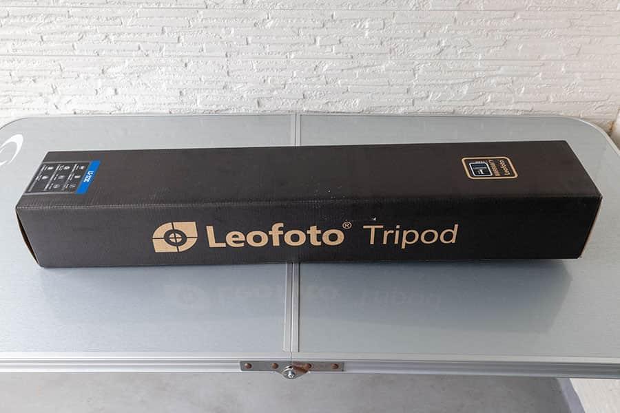 Leofoto LS-323C パッケージ