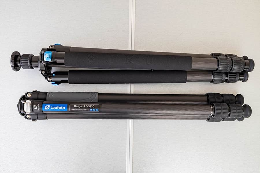 SIRUI R-3213XとLS-323C