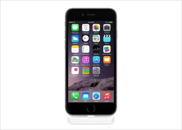 iPhone 6 /6 Plus に対応したLightning Dockが発売開始