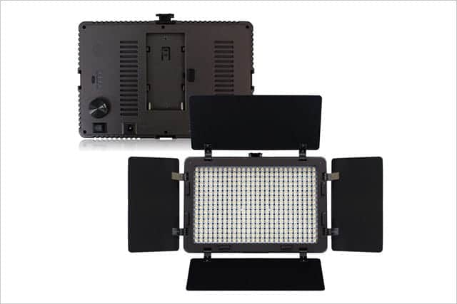 LOE(ロエ) 定常光ライト LED 410球 大光量 2000ルーメン ACアダプター付 (410A)