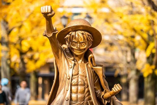 「記念像フォー!」ルフィ像の除幕式 in 熊本県庁 写真22枚&動画あり