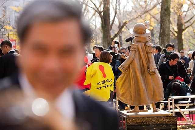 熊本県知事の蒲島さん