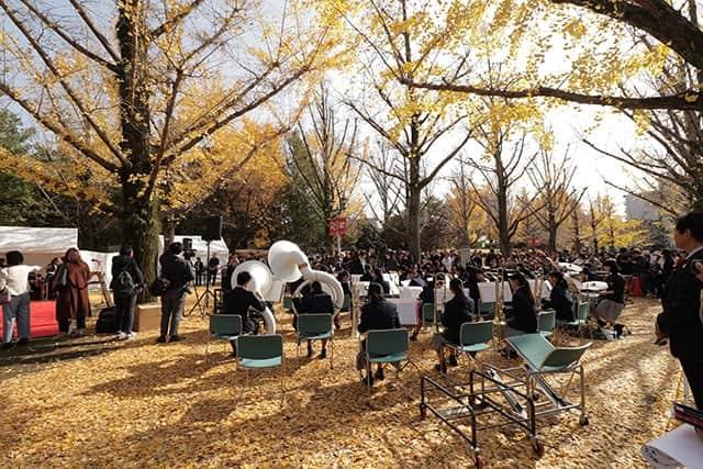 尾田栄一郎さんの母校、東海大星翔高校の吹奏楽部の方々