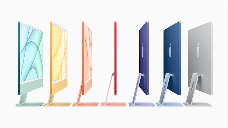 7台のカラバリから選べるM1 iMac