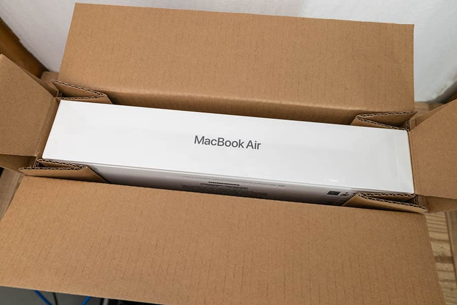 M1 MacBook Air 開封