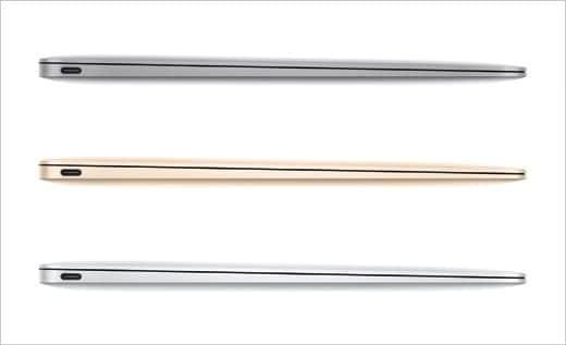12インチMacBook 3カラー