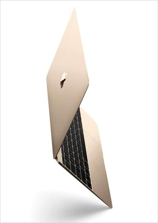 MacBook 12インチモデル ゴールド