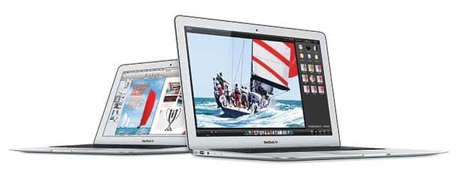 13インチMacBook Air 8GBのメモリを標準搭載