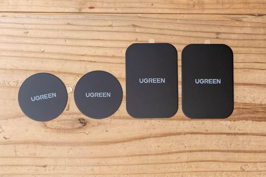 UGREEN メタルプレート 4枚セット