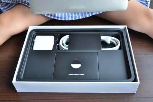 MacBook Air 11インチ 開封写真 内包物