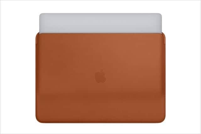 MacBook Pro用レザースリーブが新登場