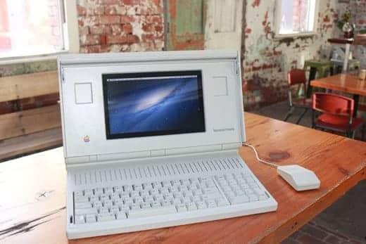 1989年に発売されたMacintosh PortableがOS X で復活!
