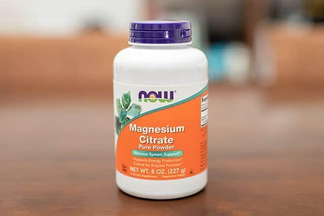 Now Foods, クエン酸マグネシウム ピュアパウダー、8オンス (227g)