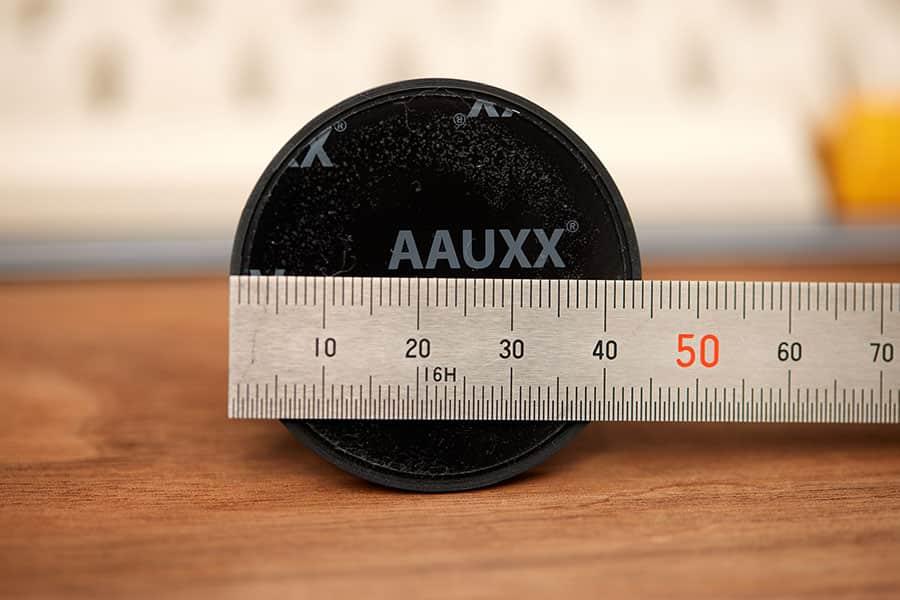 iRingの直径は44mm